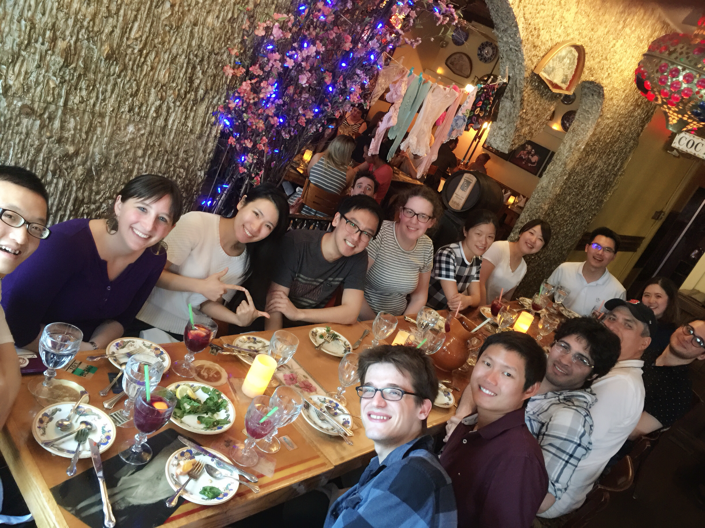 Group Outing at Dali Restaurant