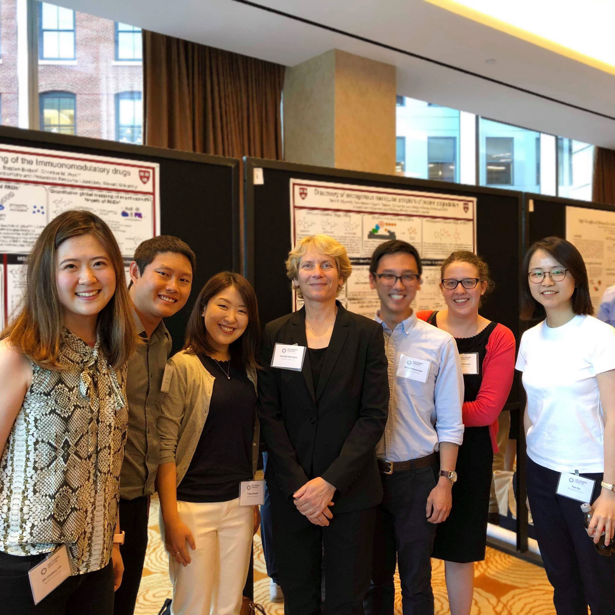 ONO Pharm conference with Prof. Carolyn Bertozzi