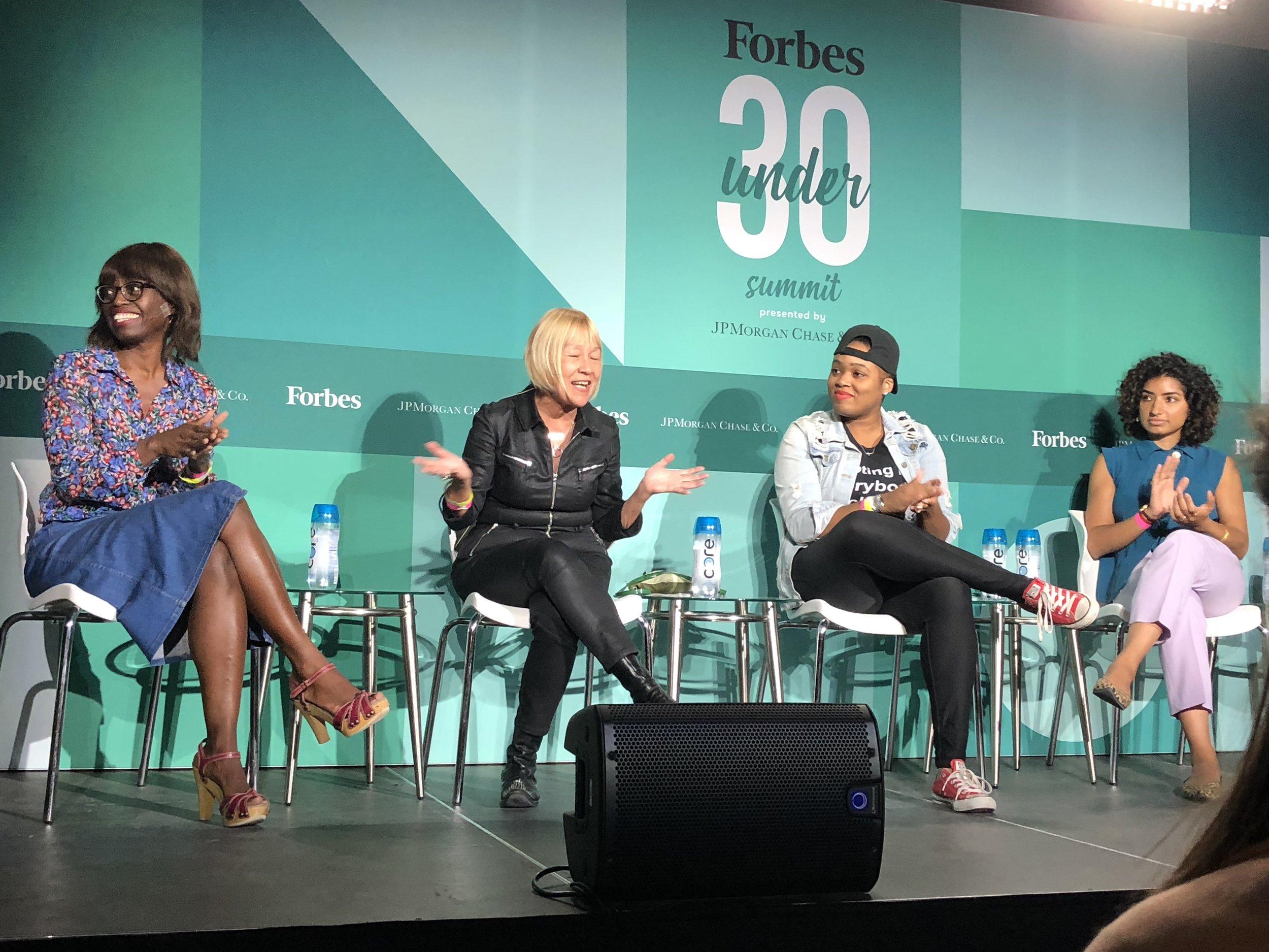 Dee Poku, Cindy Gallop, Rica Elysee, Anarghya Vardhana