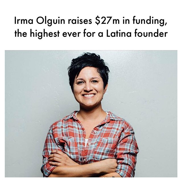 What I love about this story is that yes she raised $27m, paving the way for other #Latina founders. But she also proves the theory that when you invest in a woman she multiplies the impact by investing in others. Bitwise aims to revitalize Fresno which has the second highest rate of extreme poverty in the country, through tech innovation and equipping marginalized groups for today's job market. #femalefounders #startup #entrepreneur #trailblazer #irmaolguin #bitwise
