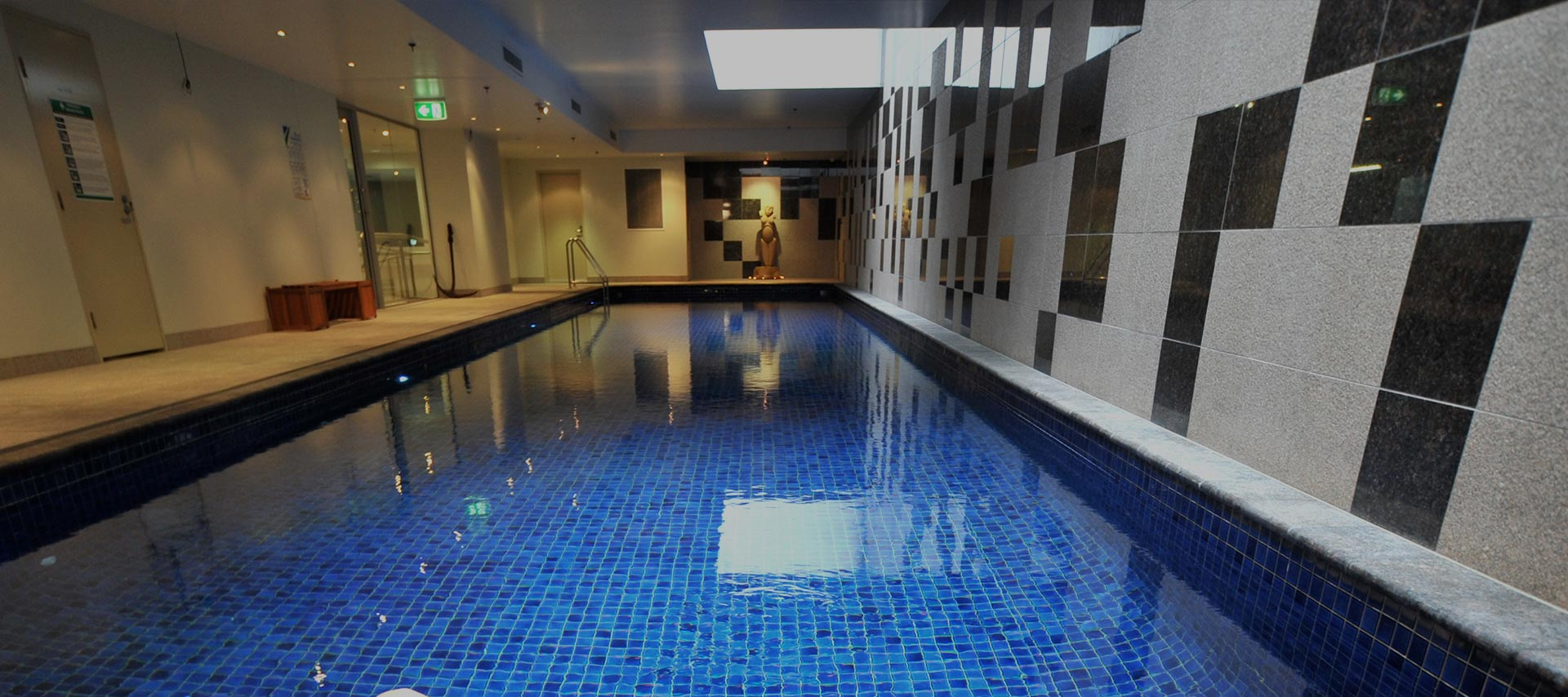 The pool at Aquarius Health + Medispa Brisbane