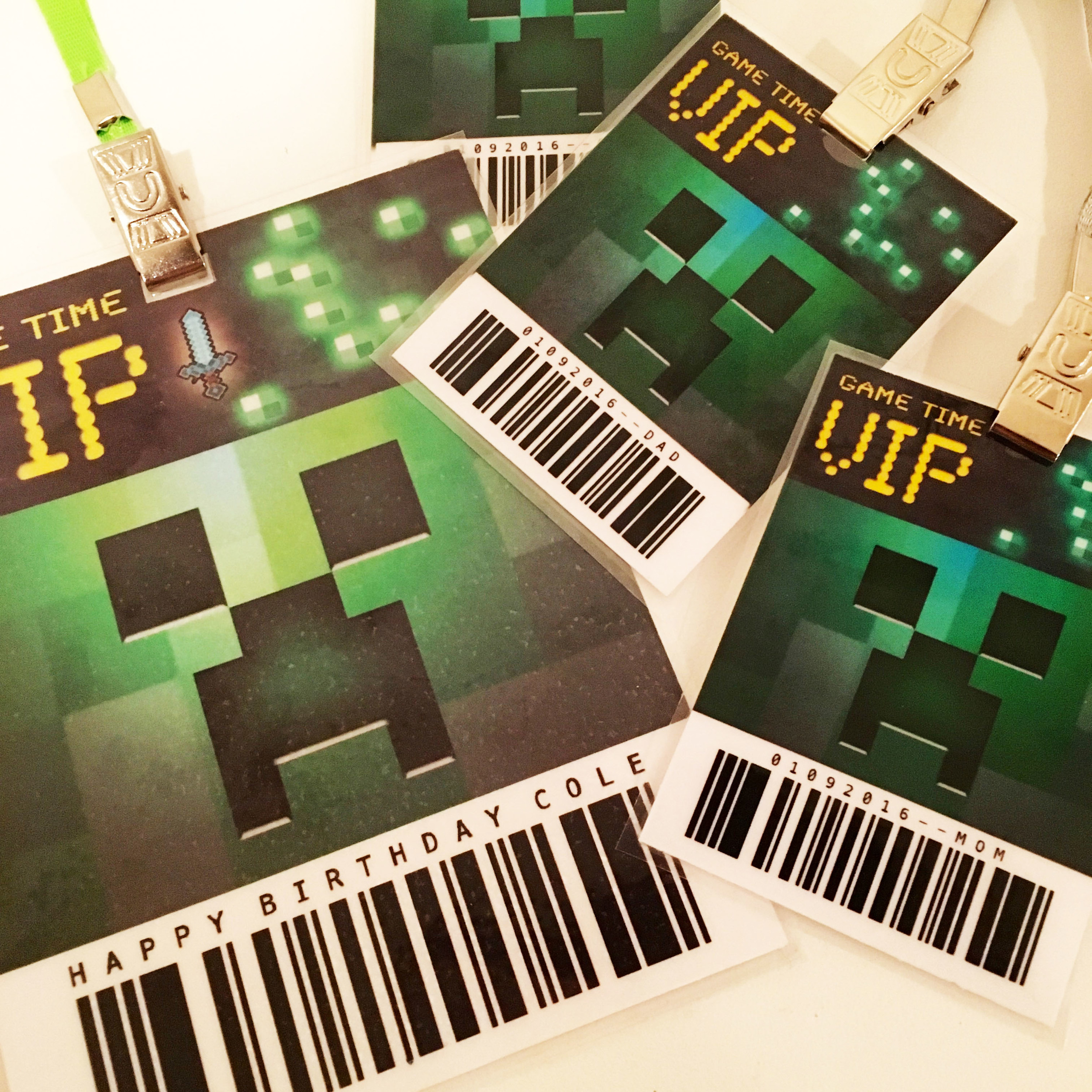 minecraft-kids-party-game-vip-pass-taryn-co