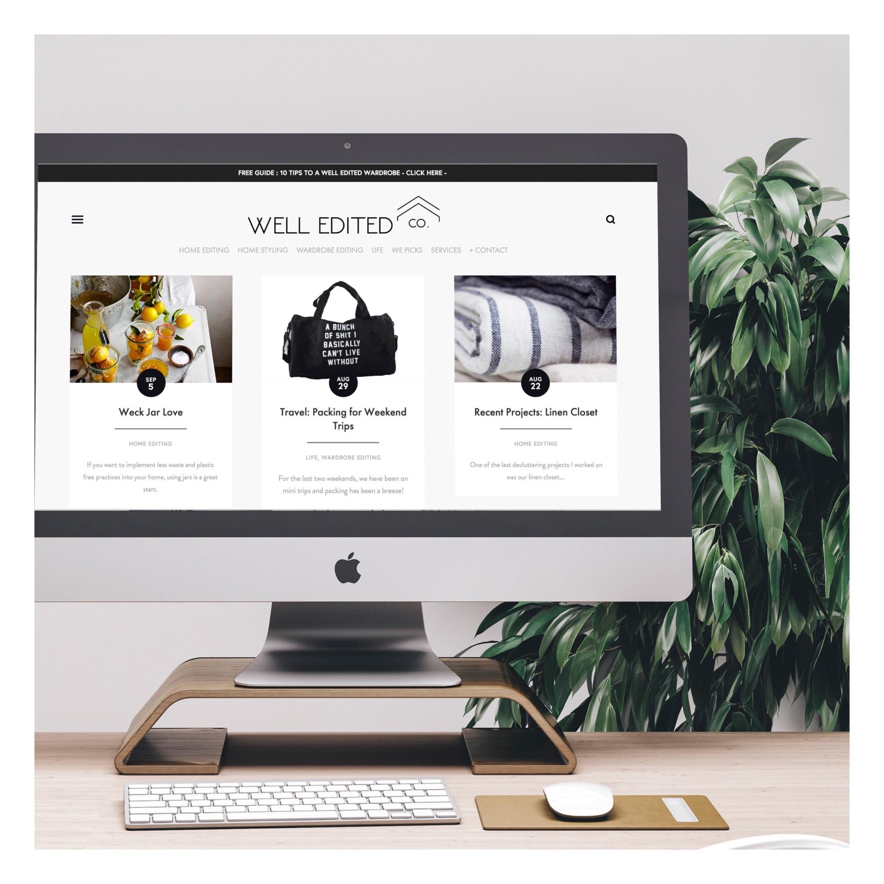 well-edited-co-website-design