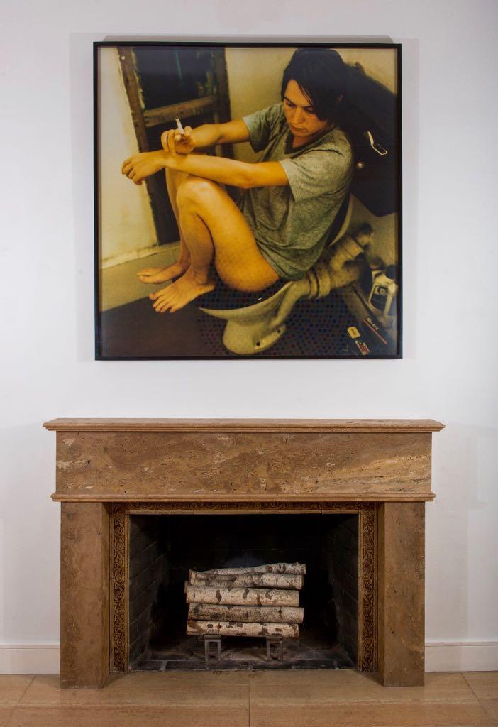 Sarah Lucas,  Human Toilet Revisited , 1998