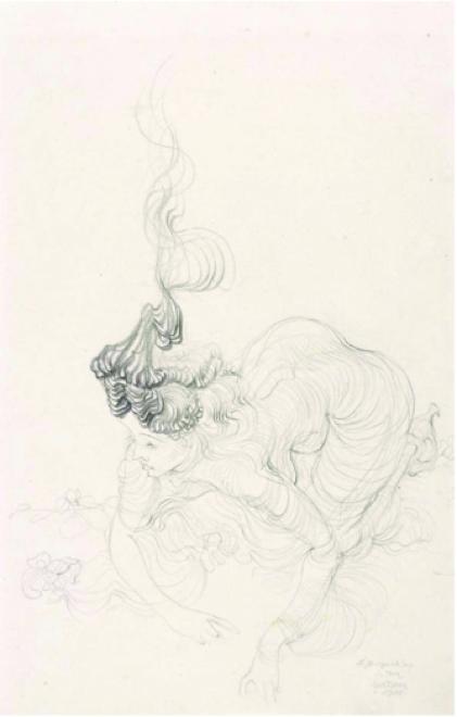 Hans Bellmer,  Untitled (à Jacqueline) , 1944