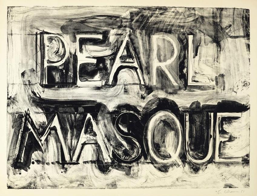 Bruce Nauman, Pearl Masque, 1981