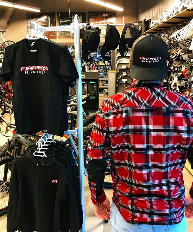Martin's new merch!! Going back to the classic sleek black and red design. Come in on shoppers night Southampton and pick them up at 25% off, plus other fun stuff happening at the shop.···Original pricesHoodies - $70Shirts - $30Hats $30