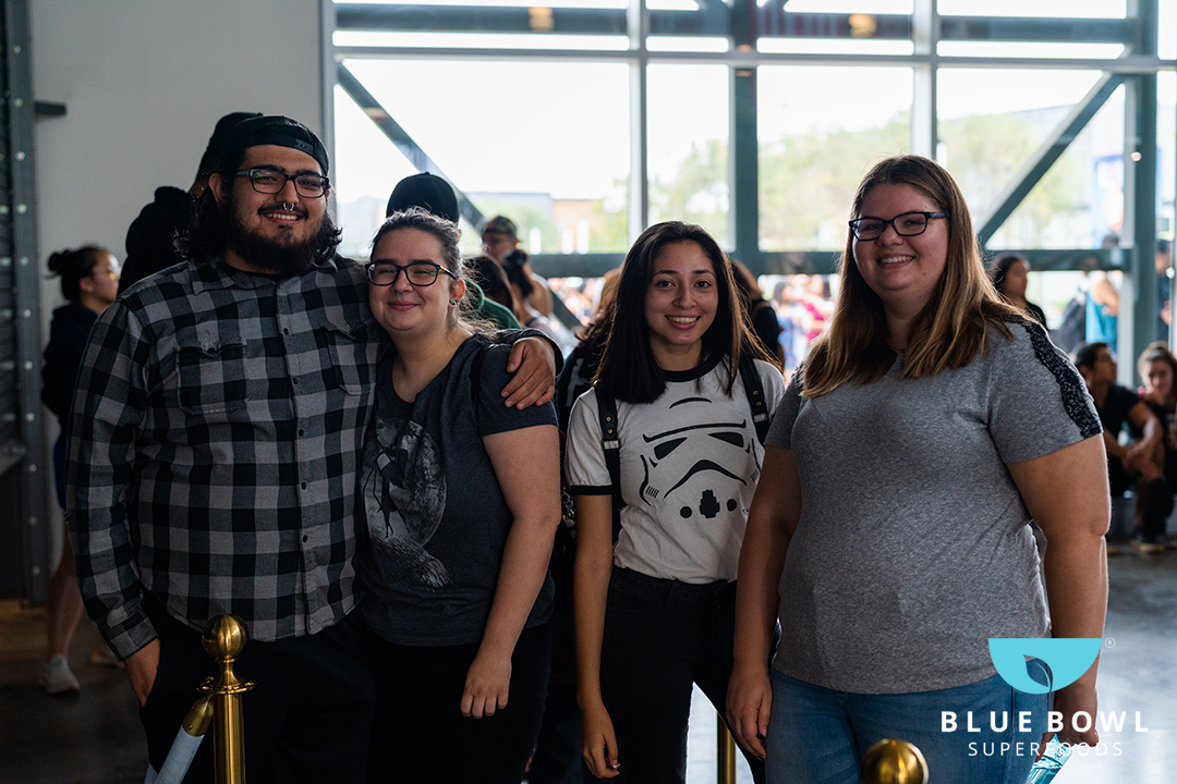 First customers in line for Blue Bowl LBX!