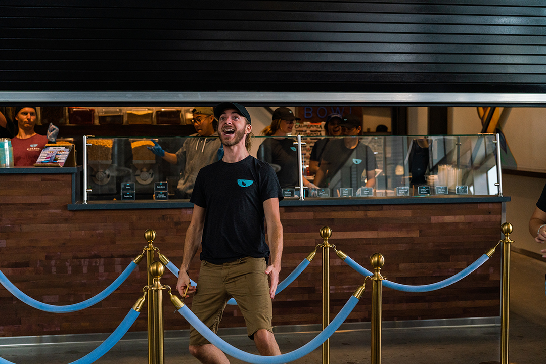 We're officially open and our manager Jake couldn't be more excited!