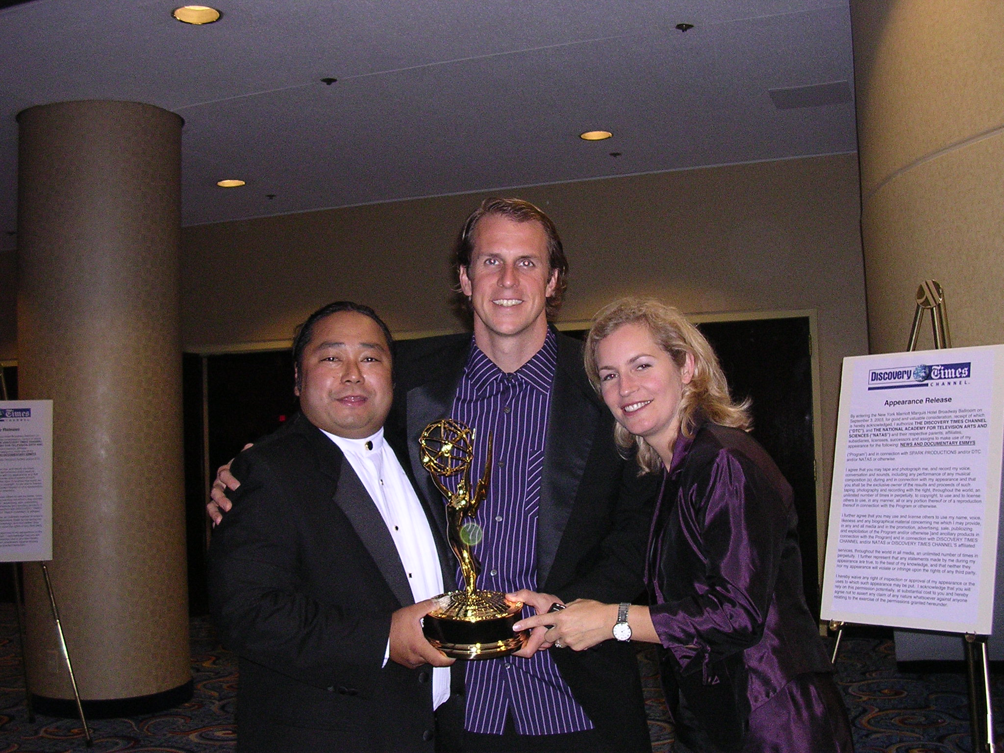 Sharing Emmy's love with producer Kenneth A Carlson and our executive producer Traci Robinson.