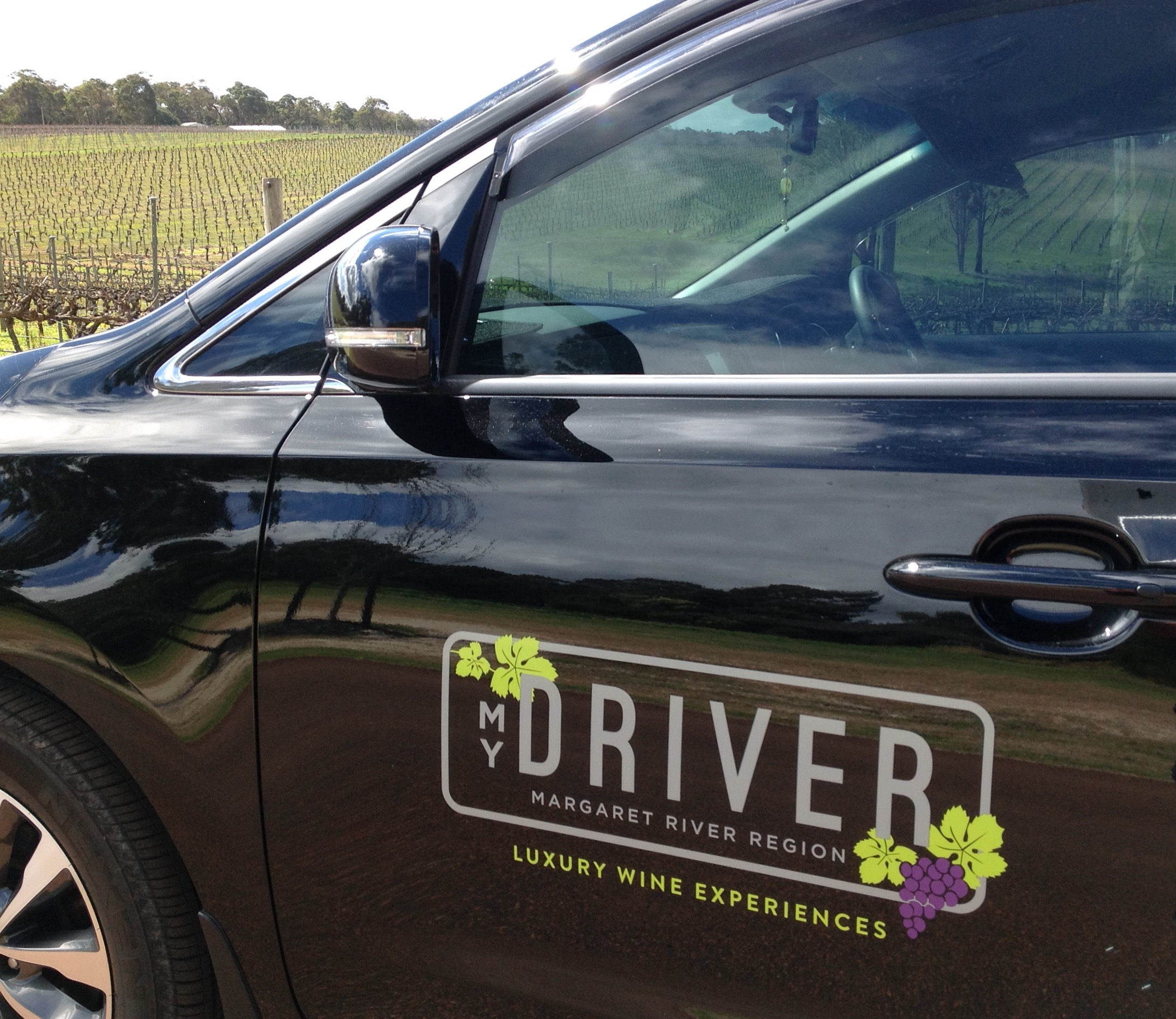 Private touring in a New World of Wine