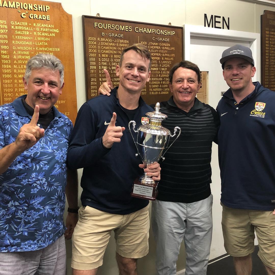 2018 Golf Open Champions