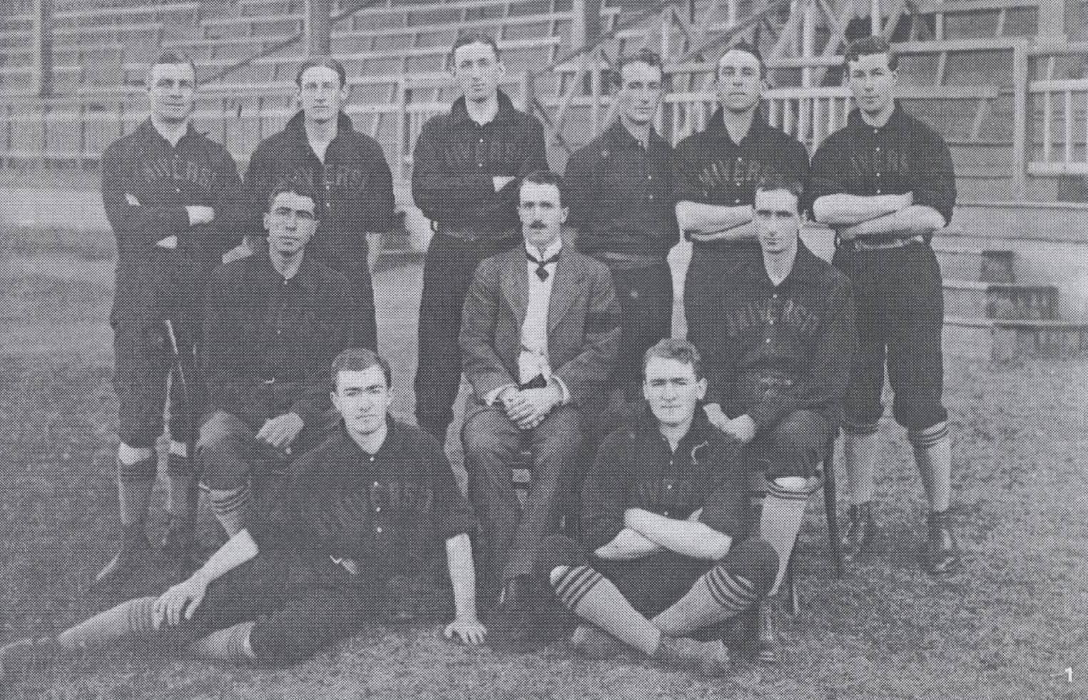 Sydney Uni Baseball Club, 1912