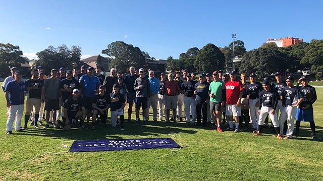 Past vs Present was a tremendous success with a great turnout from the Alumni. Past defeated Present 8-2 #letsgetcynical @sydunisport @susf_eliteathleteprogram @white_cockatoo_hotel