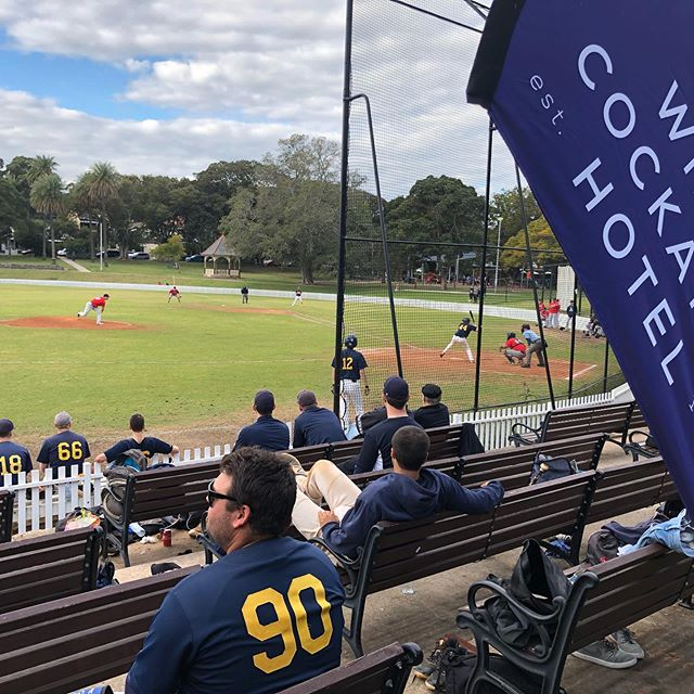 Splendid conditions for Alumni Day; 1st Grade pushing for a spot in the playoffs — @white_cockatoo_hotel @susf_eliteathleteprogram @sydunisport