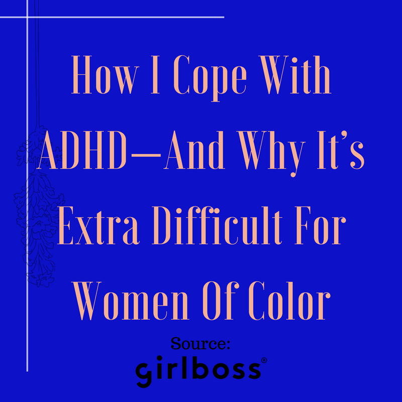 Cope ADHD Women of Color