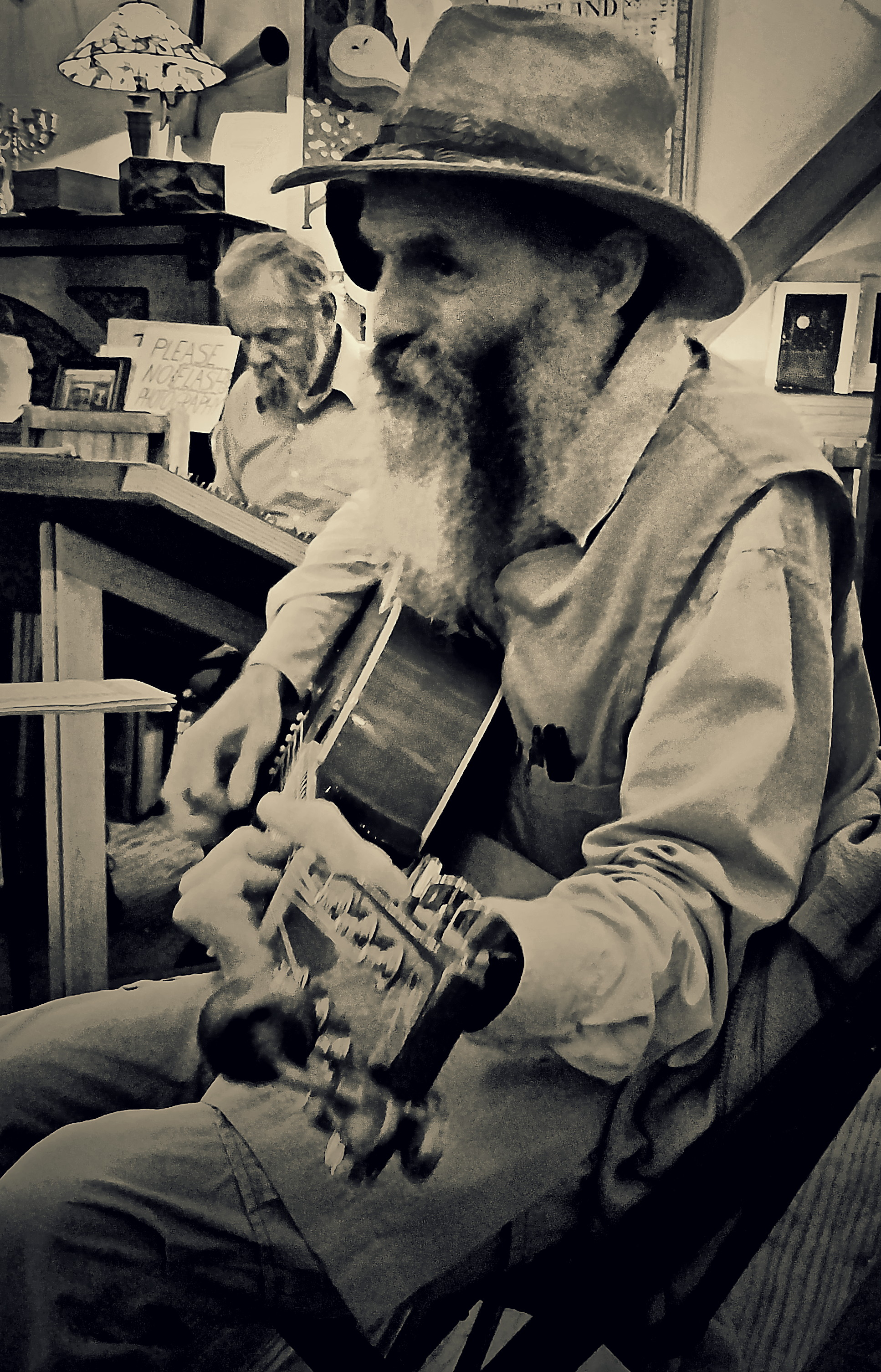 O'Hurley's General Store, Thursday night jam, West Virginia – complete with dulcimer