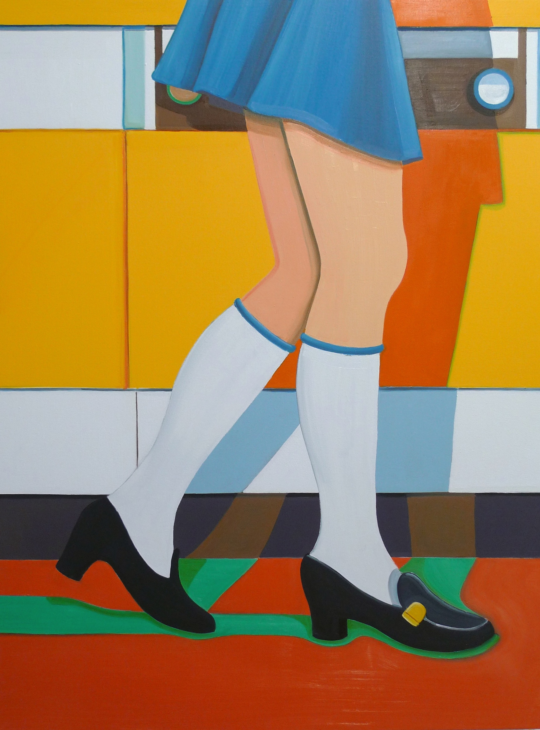 1960's Housewife (Lower Half)  2010 Oil on canvas, 130 x 97.5 cm