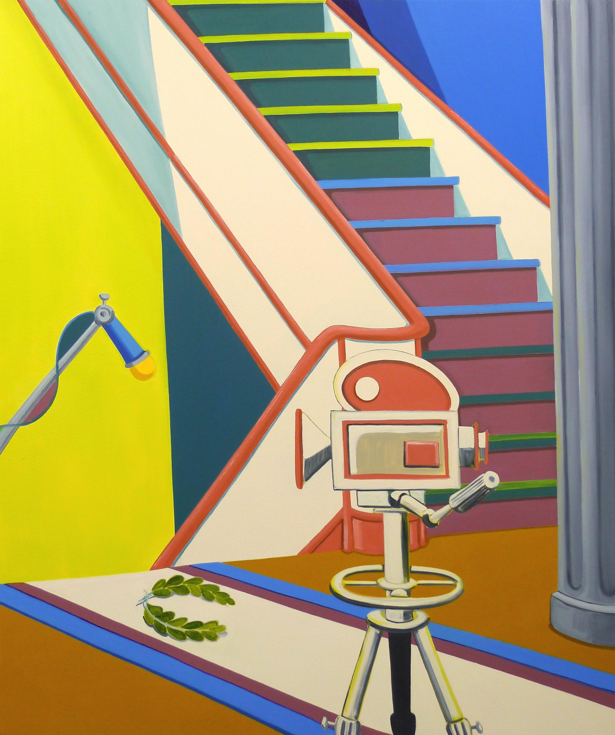 Peplum Apartment   2010 Oil on canvas, 160 x 135 cm