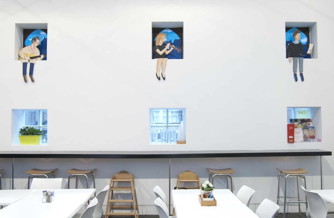 Installation view,  Casablanca Moon , Jerwood Project Space, 2013