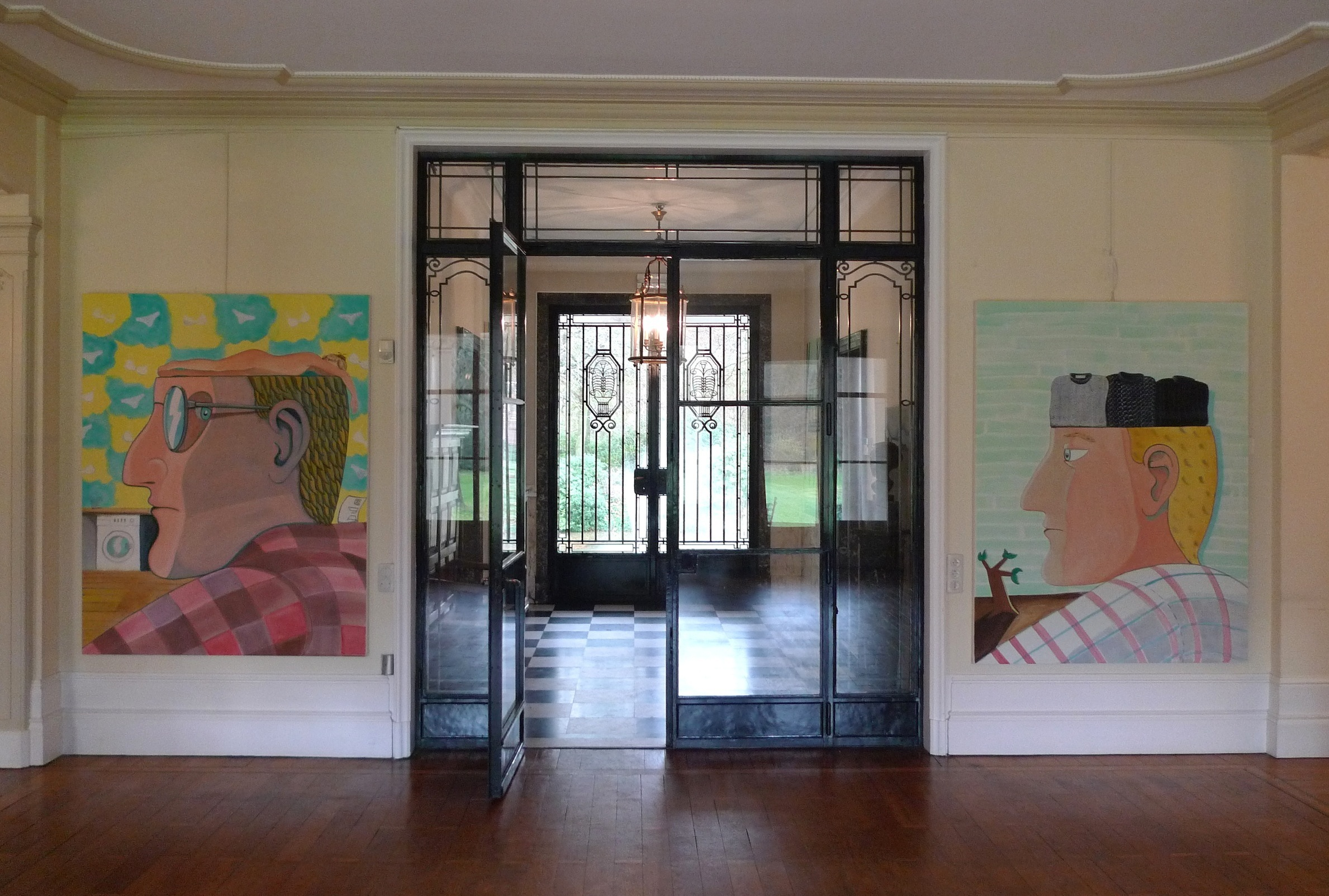 Installation View,  Recent Paintings , Wolvenbosch, 2015