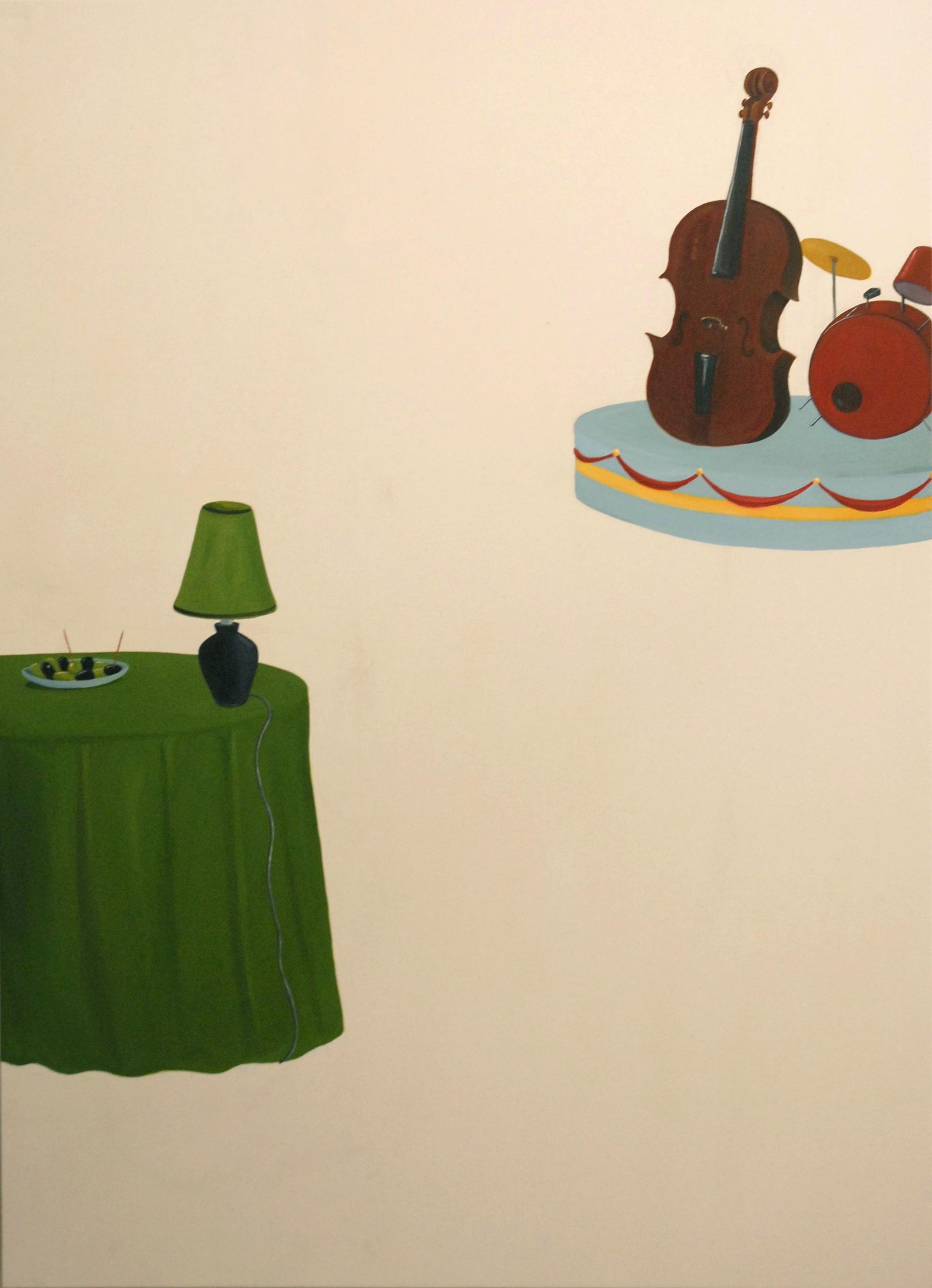 Soiree Swing  2006 Oil on Canvas, 160 x 120 cm