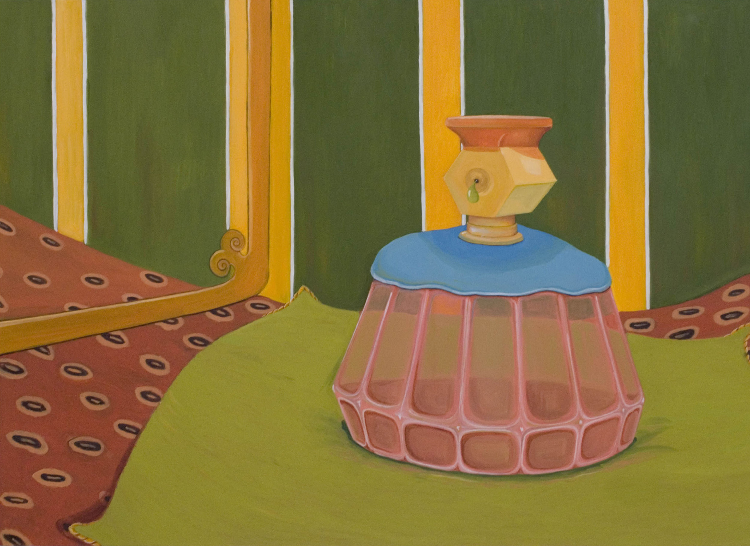 Boudoir  2007 Oil on Canvas, 105 x 145 cm