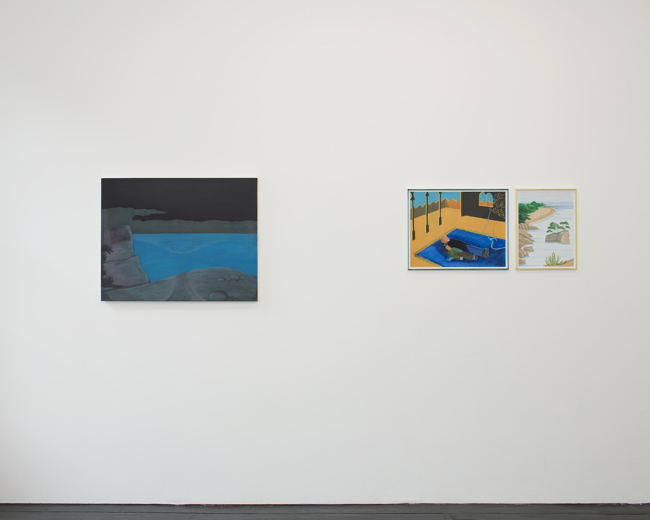 Installation view,  Life at Sea  , Southard Reid,  2012