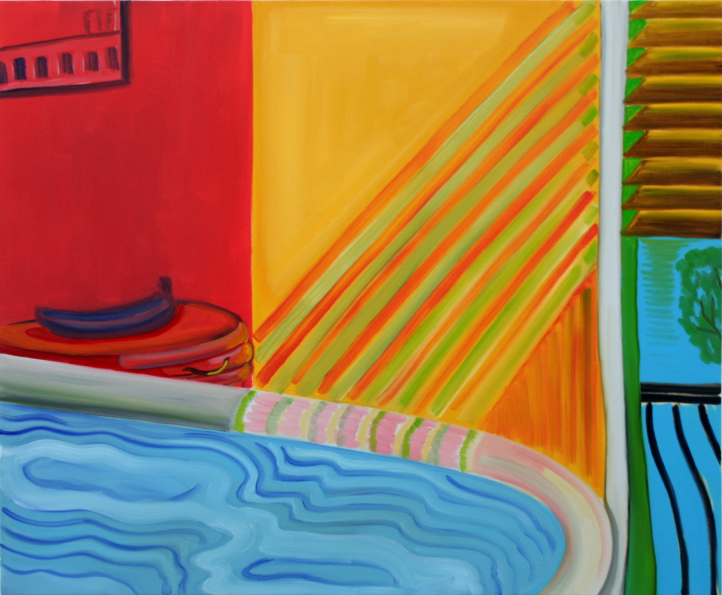 Heatwave  2011 Oil on canvas, 75 x 91 cm