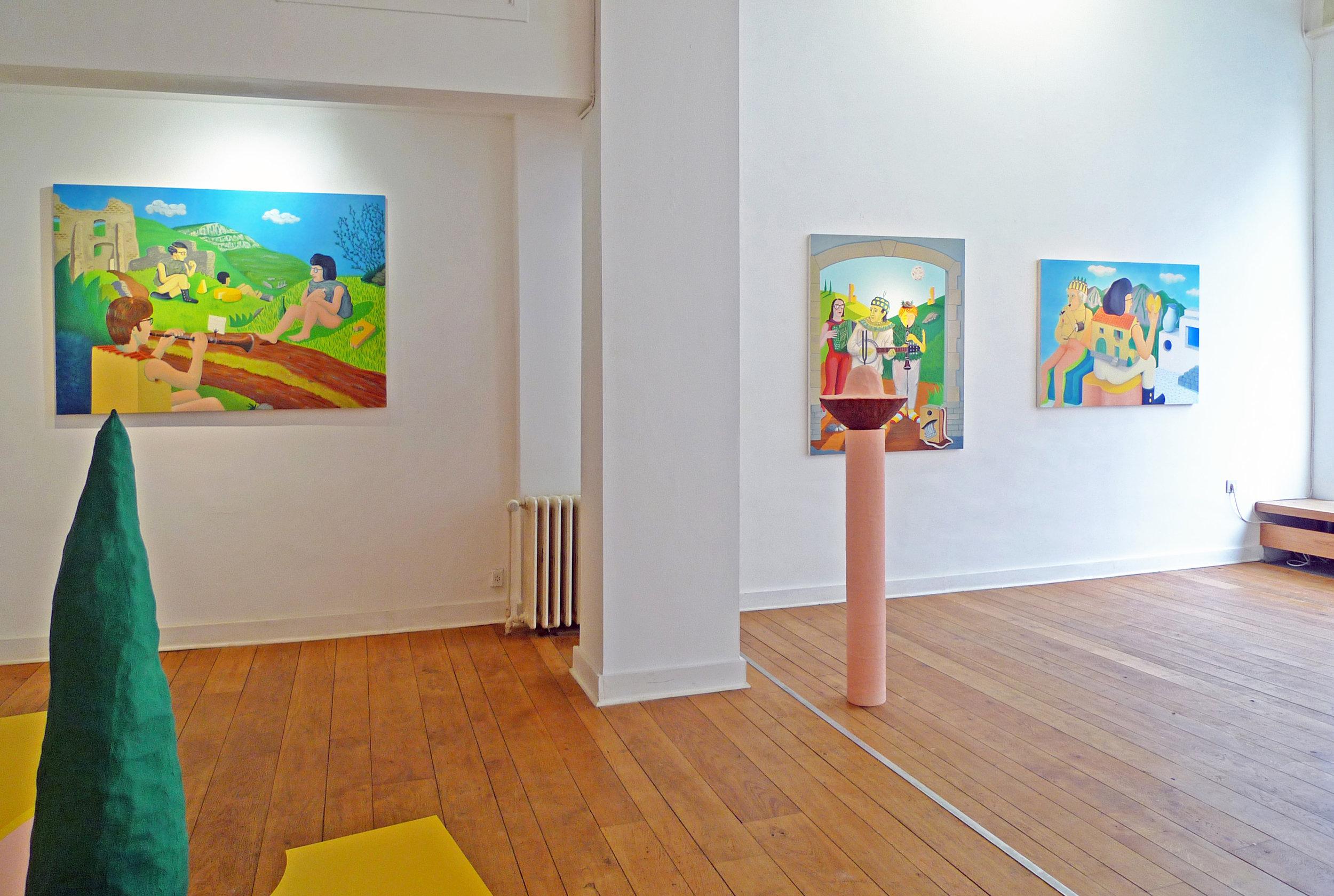 Terroir 2 alec kronacker exhibition painting sculpture