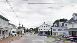 Downtown Hillsborough, NH