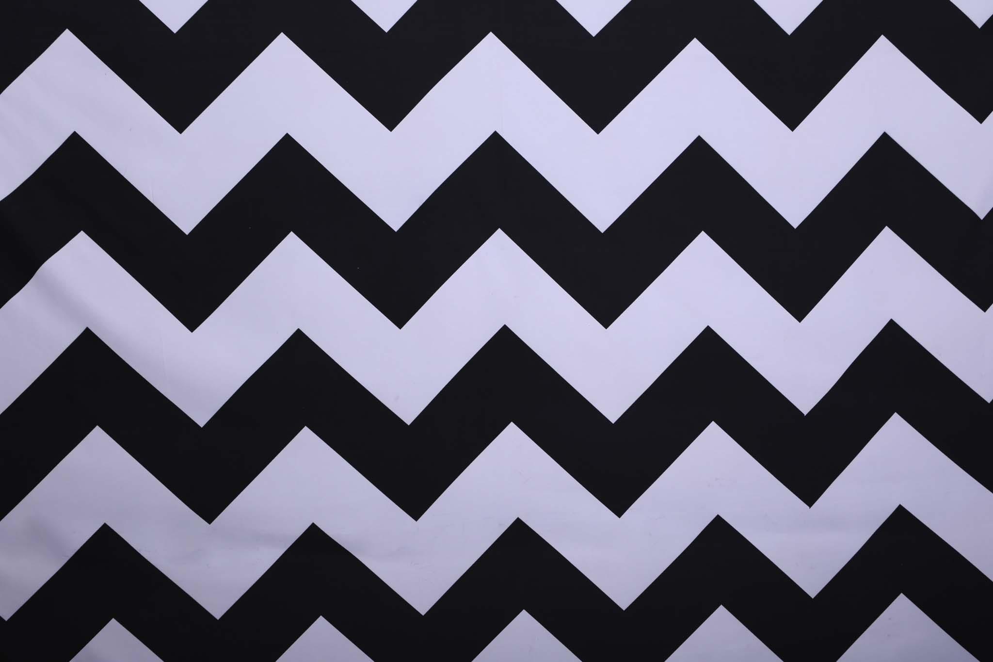 Copy of BLACK & WHITE CHEVRON