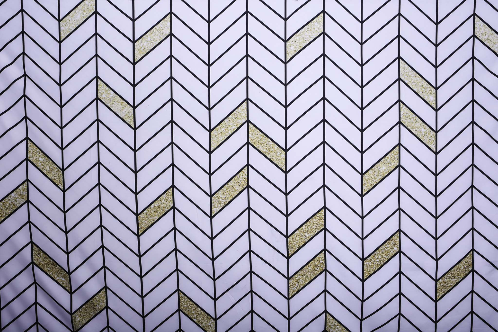 Copy of GOLD SCATTER CHEVRON