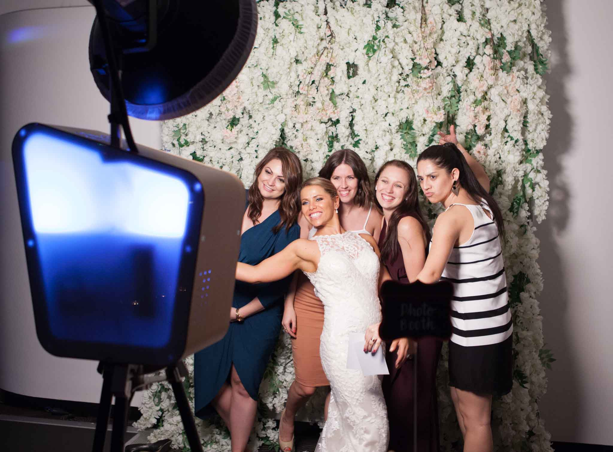 Open Booths - Wedding Photo Booth Sydney