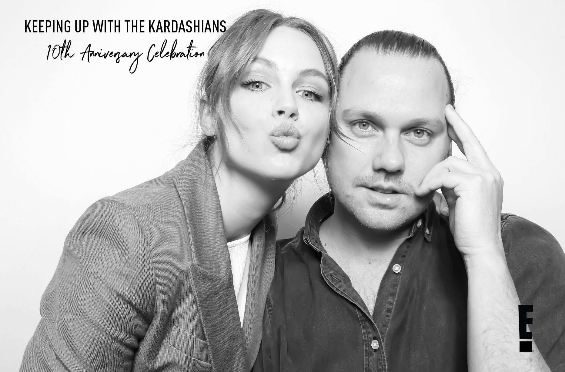 KUWTK 10th Anniversary - Keeping Up with the Kardashians Photo Booth