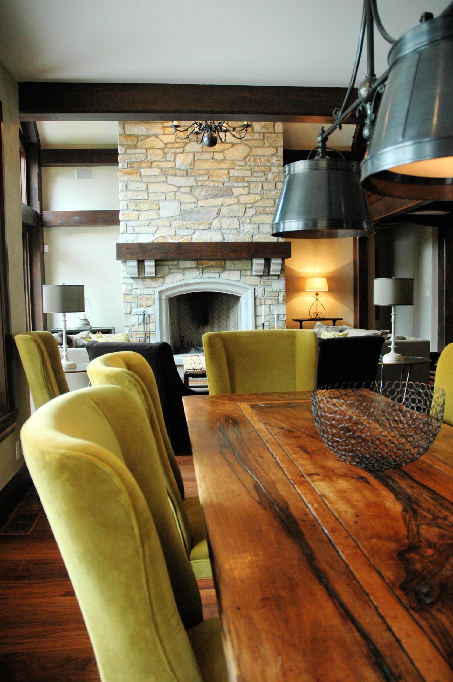 Elegant rustic dining