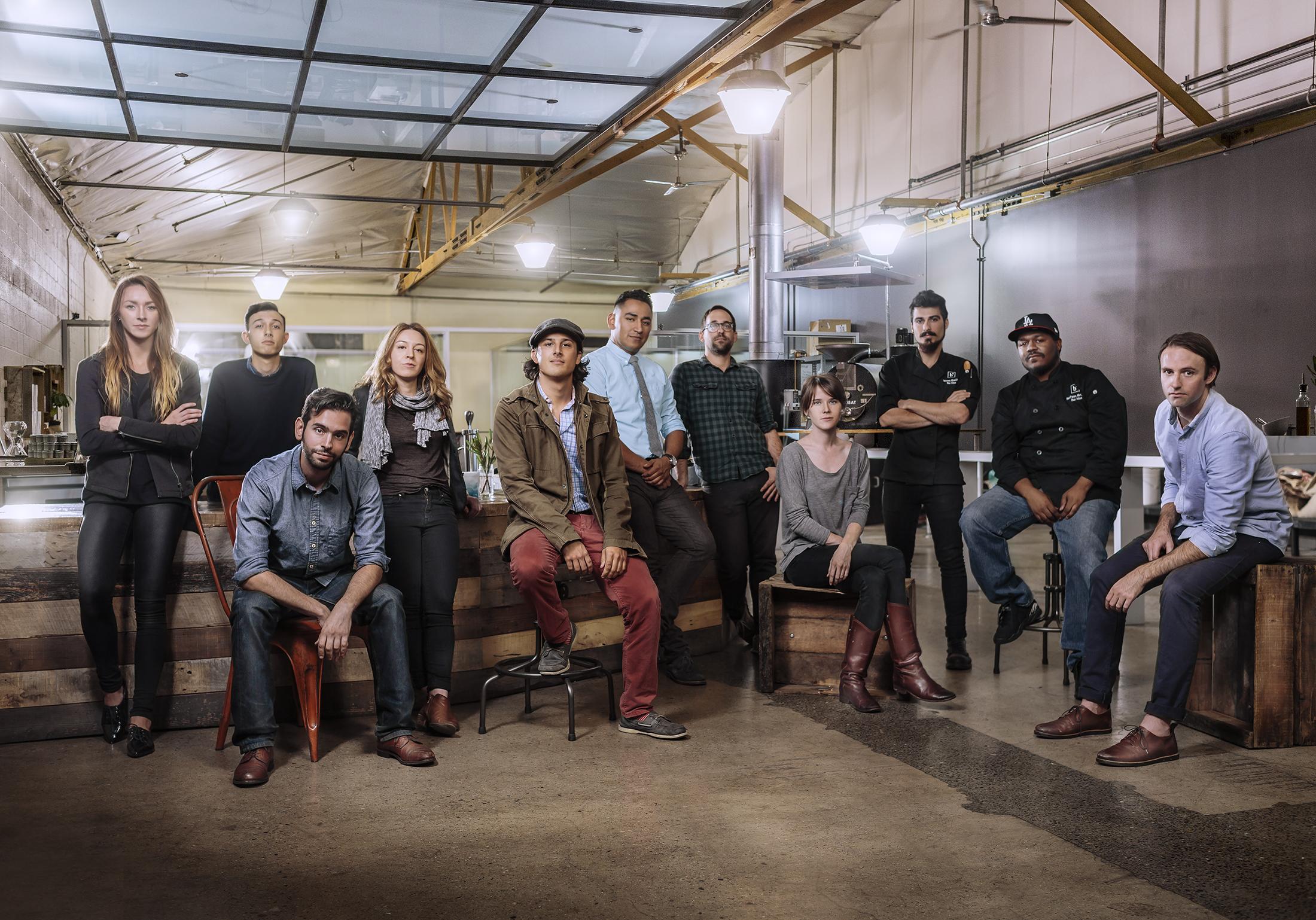 The Bar Nine team