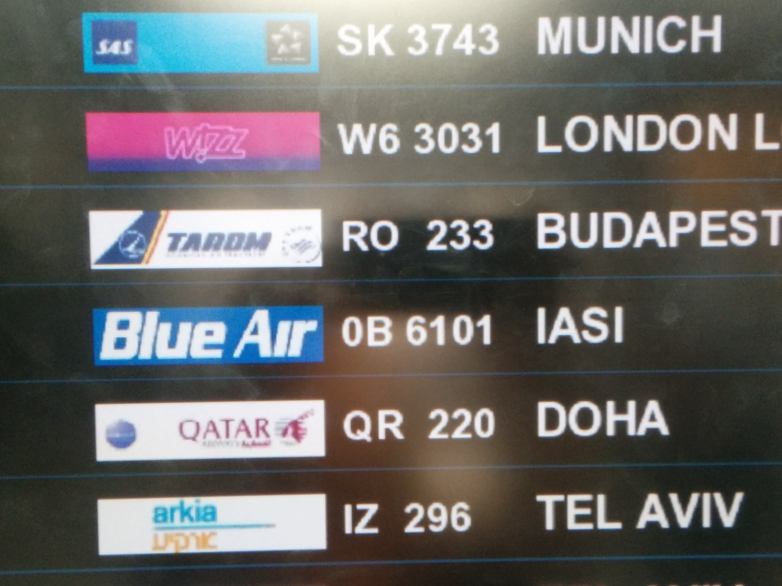 On our way to Iasi!
