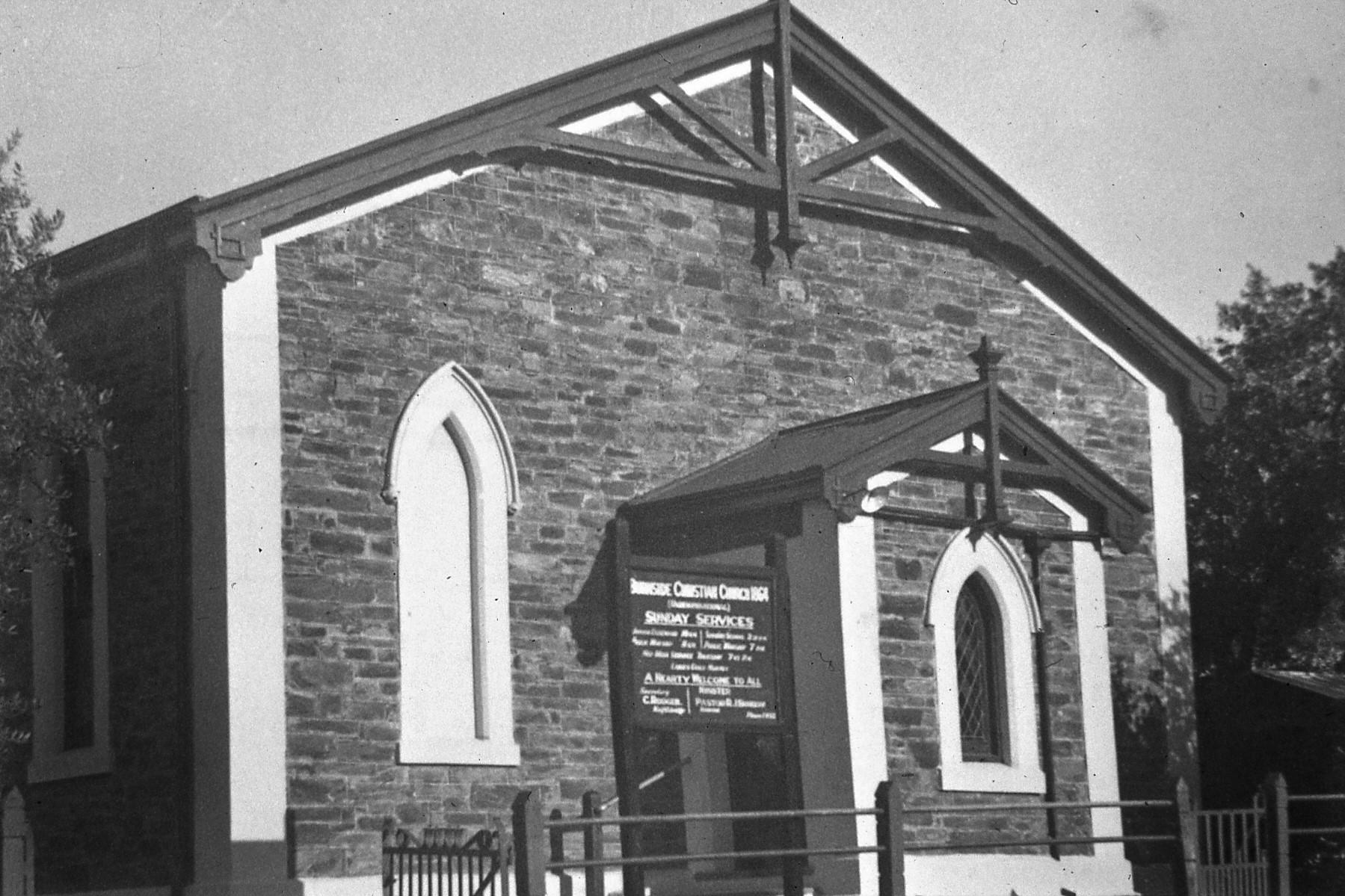 Original church chapel