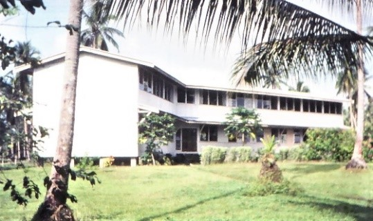 One Pusu Bible College Faculty Offices, Library and lecture rooms in the late 70s