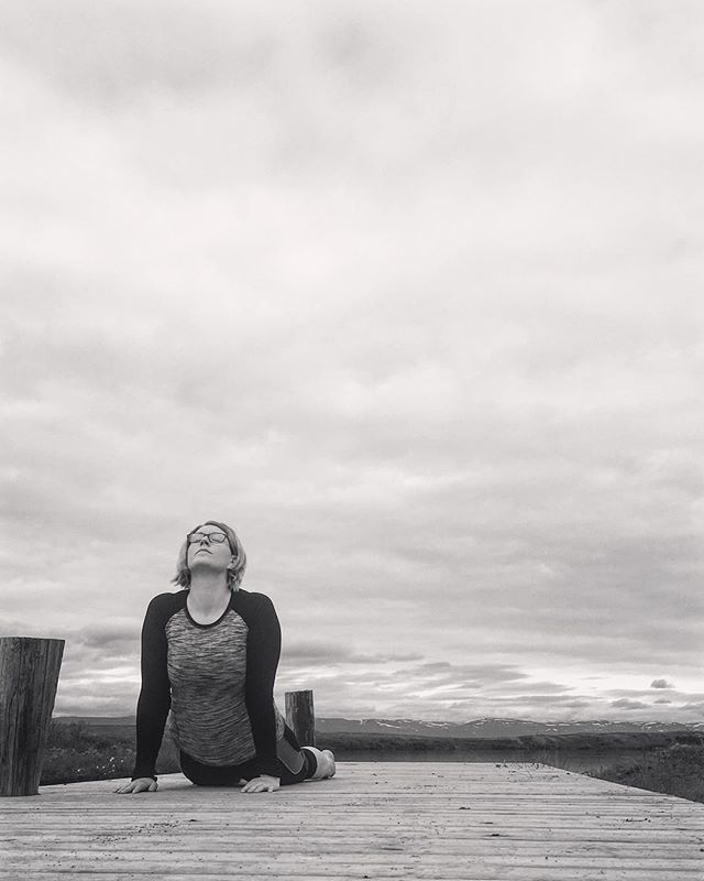 Embracing nature #easticeland #yoga #health #embracenature