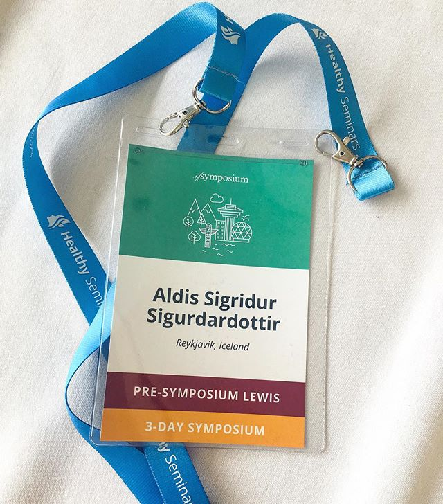 Fantastic few days @ifsymposium. I learned so much from some amazing leactures. #ifsymposium2019 #aldisacupuncture #aldísakupunktur #chinesemedicine #fertility #frjósemi