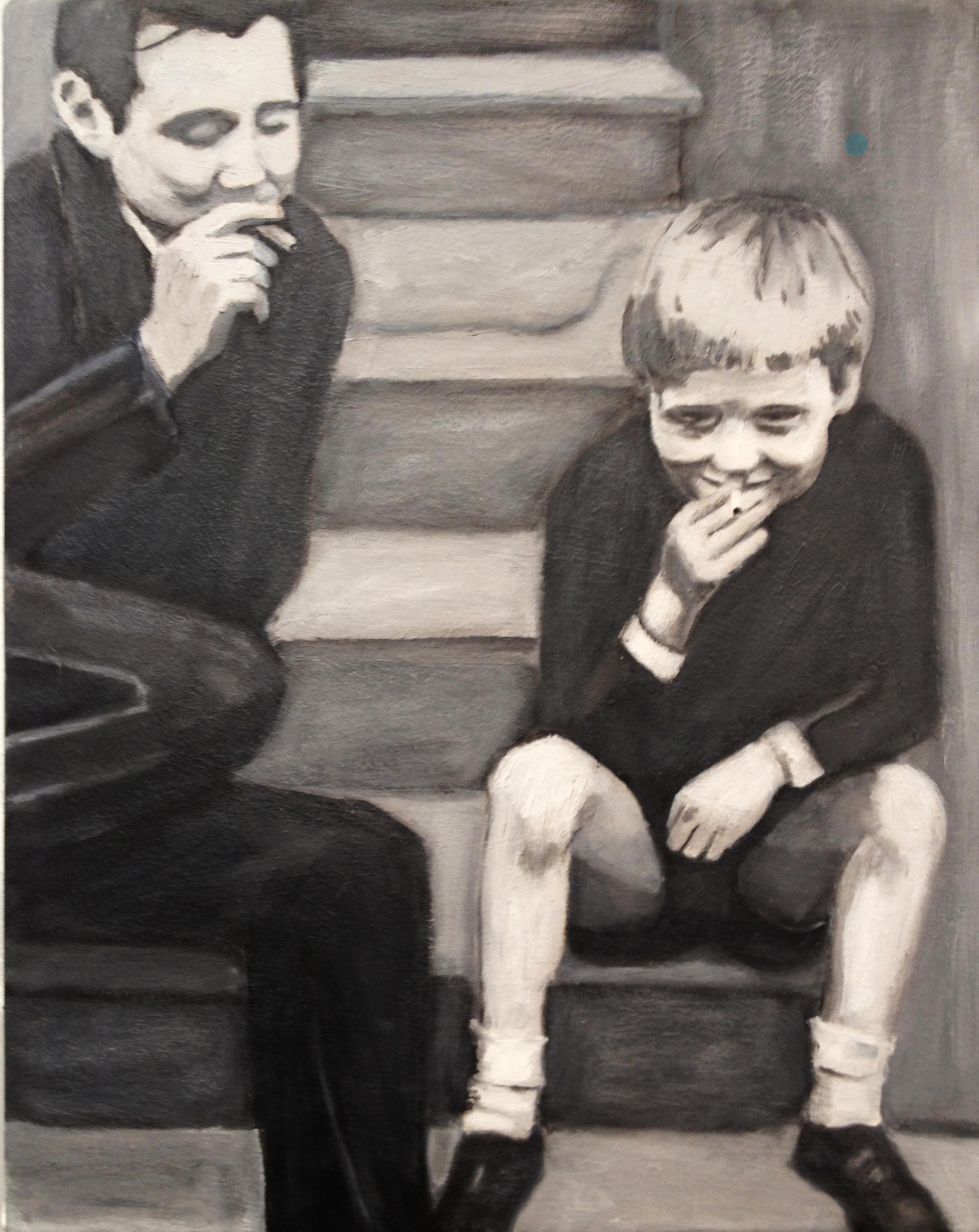 Boys Smoking