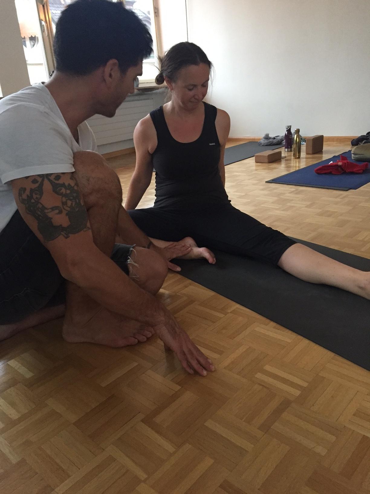 Yoga vinyasa krama training