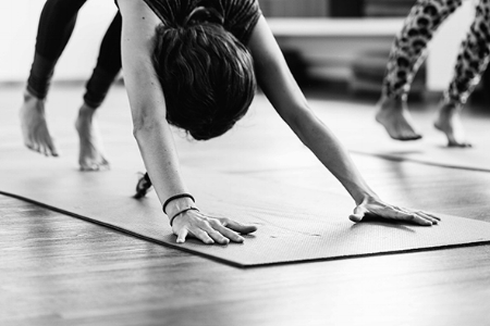 Ashtanga Vinyasa Yoga - Tradition founded by Shri K. Pattabhi Joisin Mysore, India. The word Vinyasa translates to