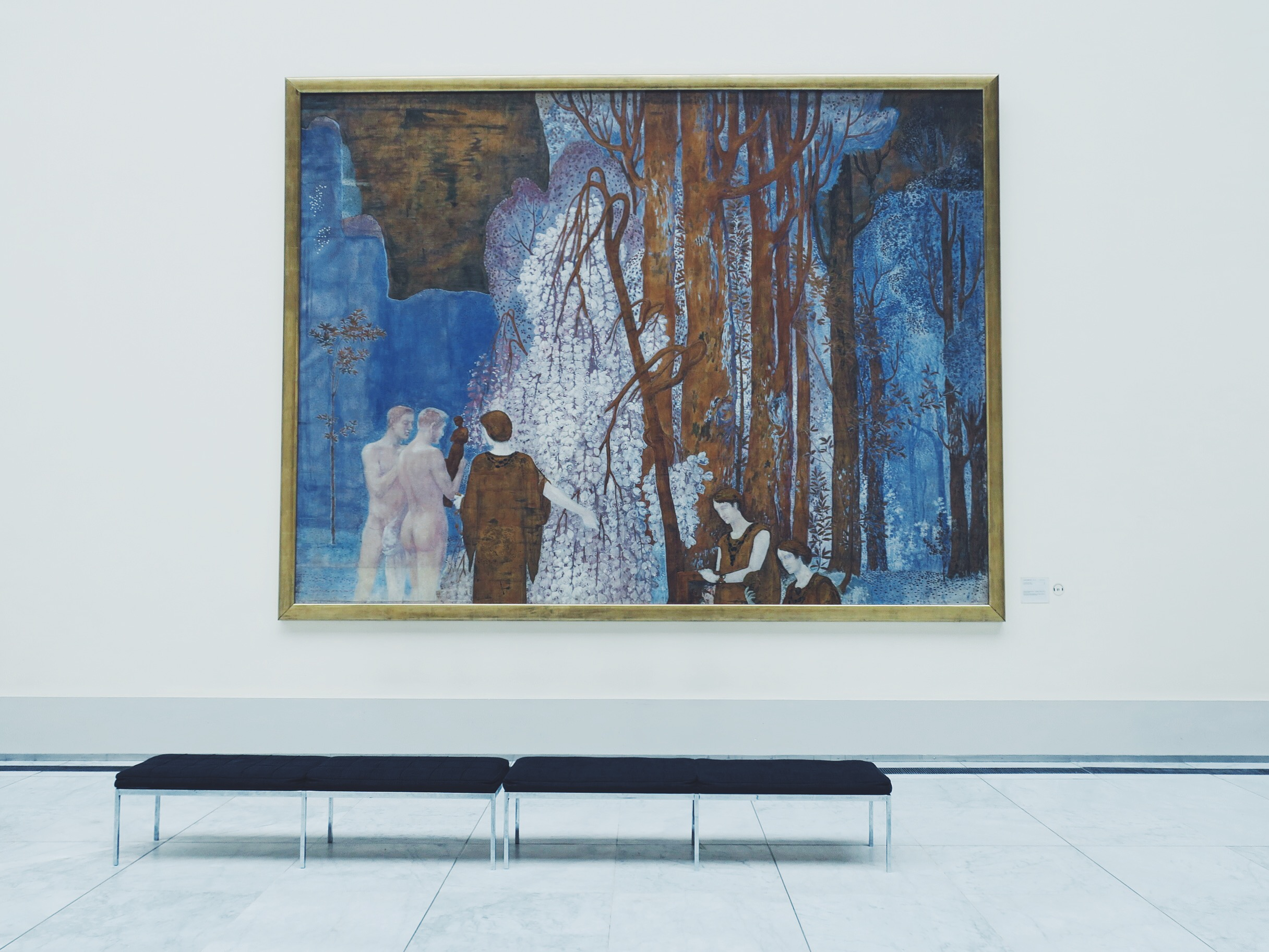 Main hall, Royal Museums of Fine Arts of Belgium