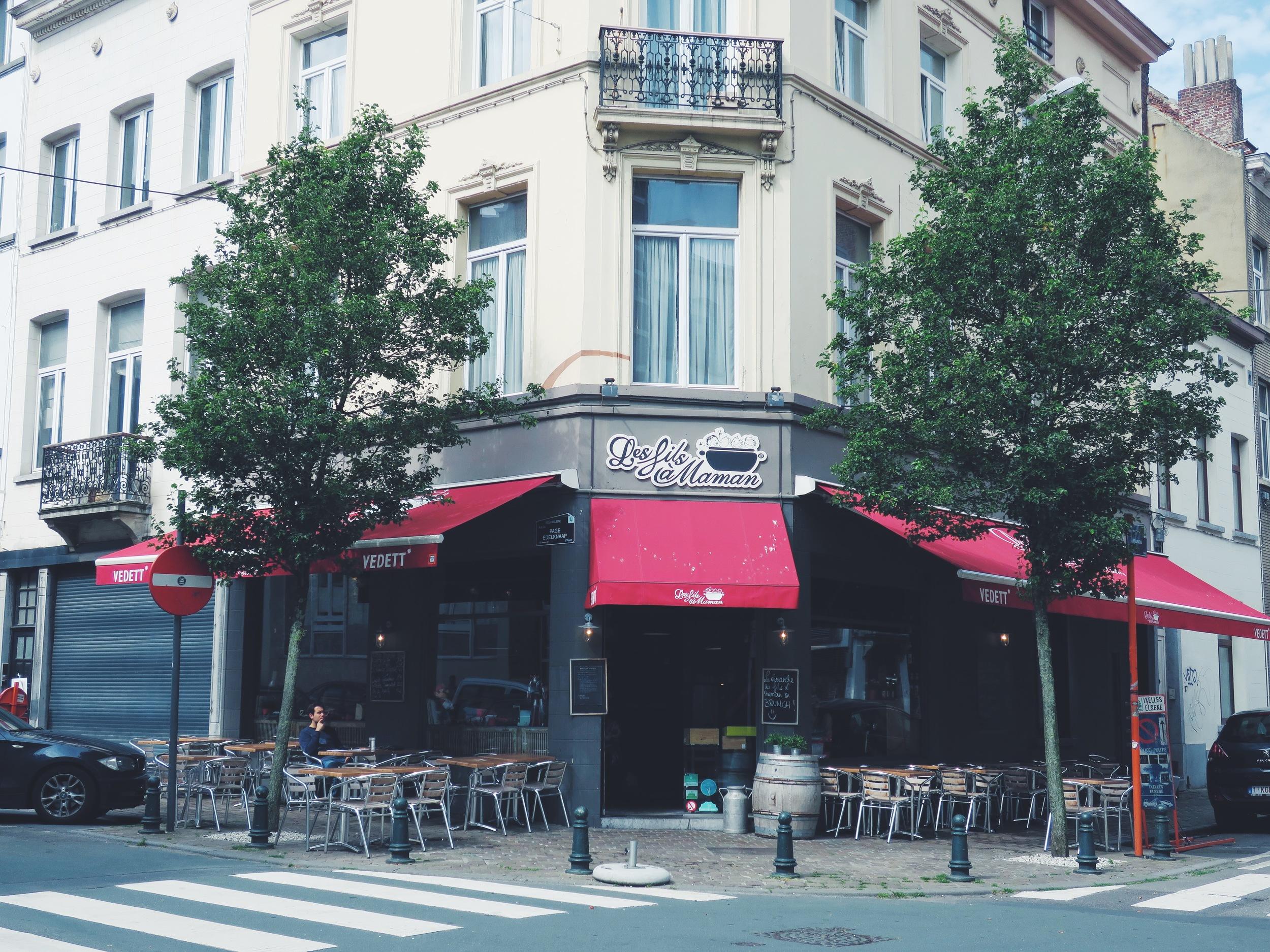 Les Fils à Maman, Rue Fourmois 29, Ixelles