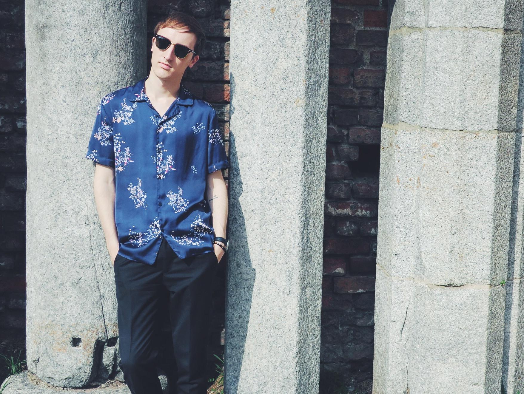 Zara shirt - Zara trousers - Ray-Ban Clubmaster sunglasses