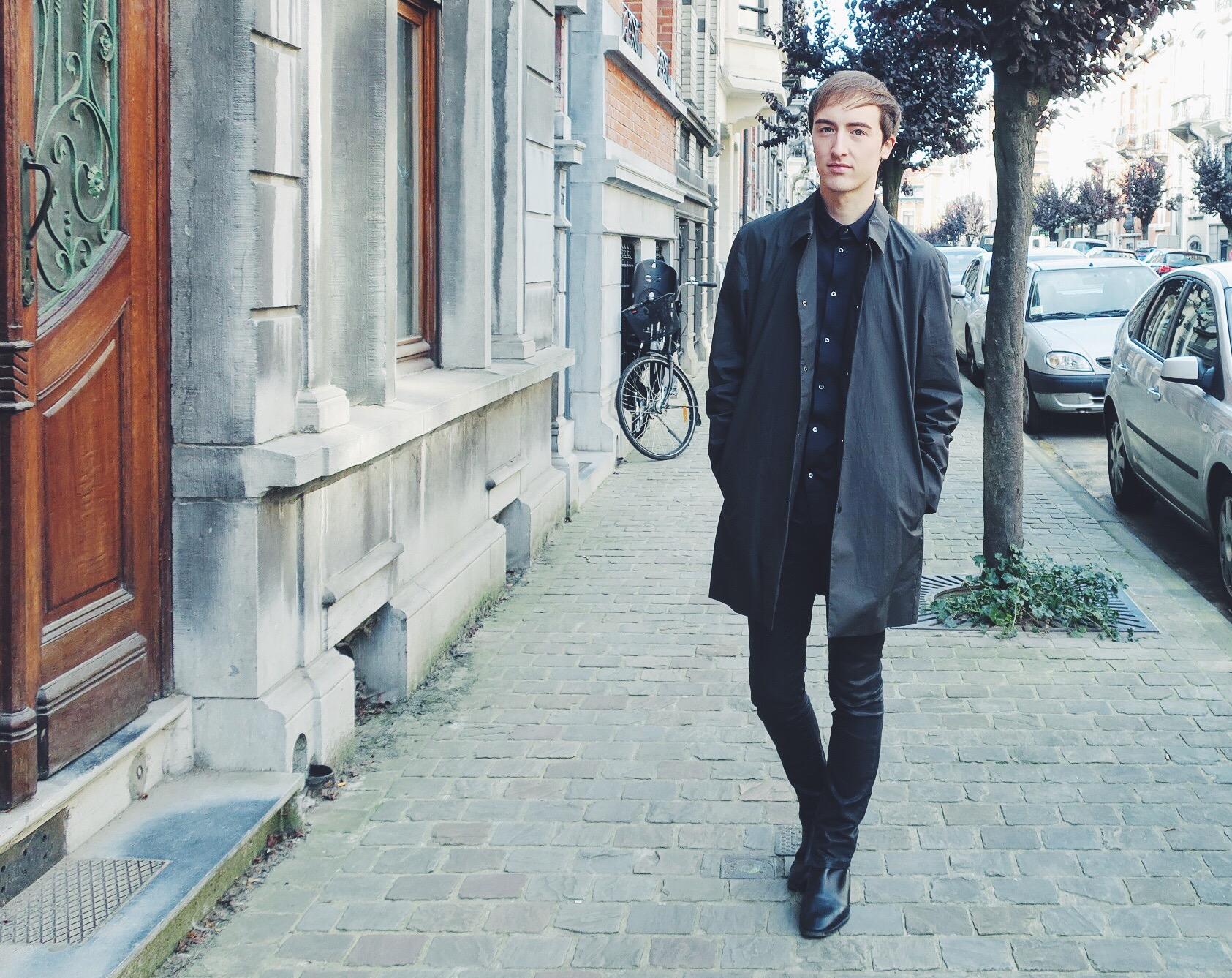 Cos jacket - Cos shirt - Asos trousers - Zara boots