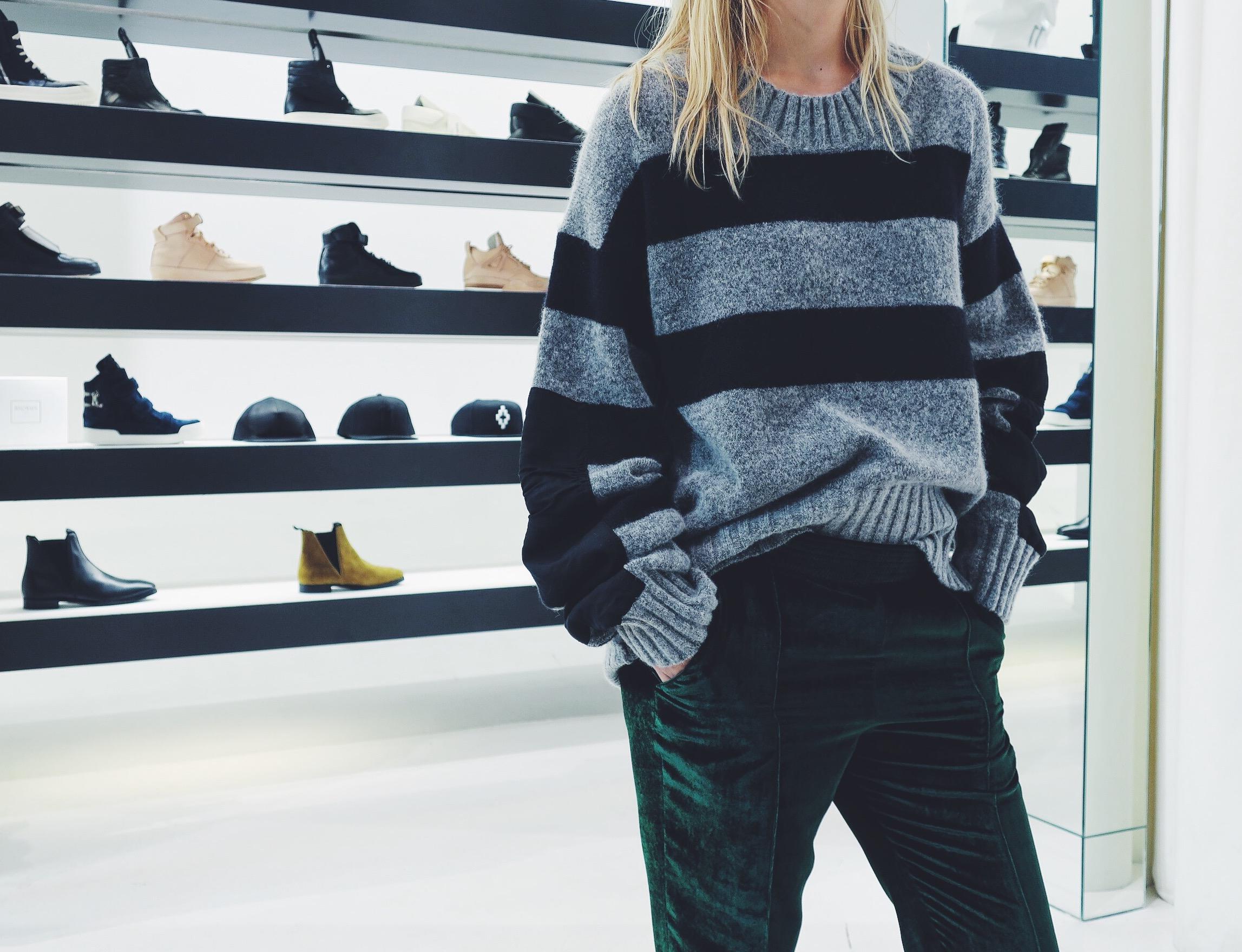 Haider Ackermann knitwear & trousers